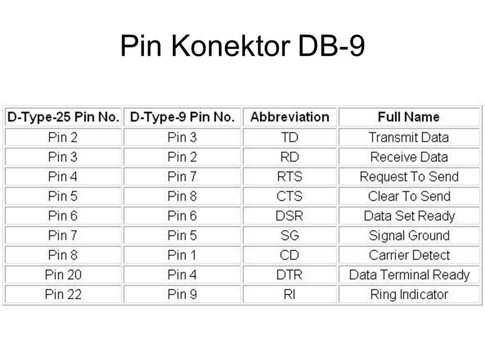 Pin Konektor DB-9