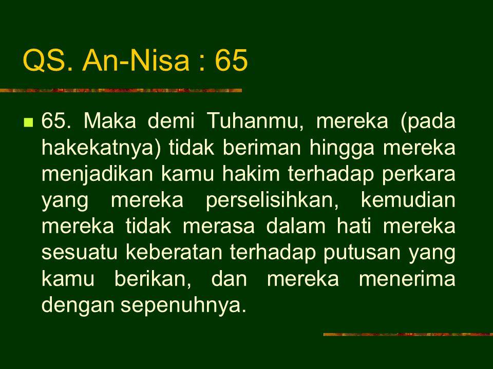 QS.An-Nisa : 60 60.