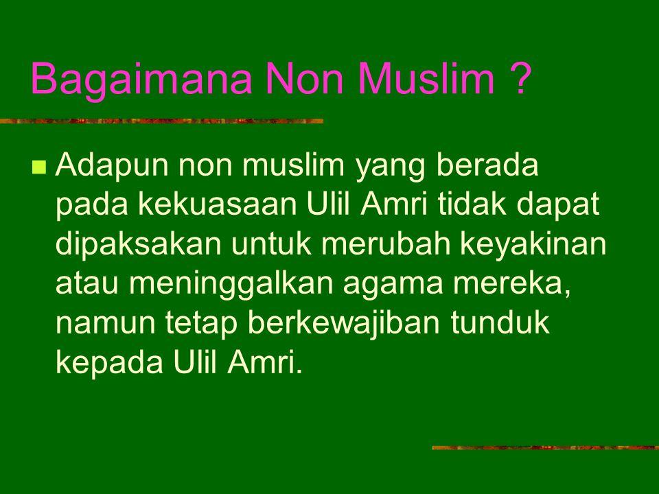 Bagaimana Non Muslim .