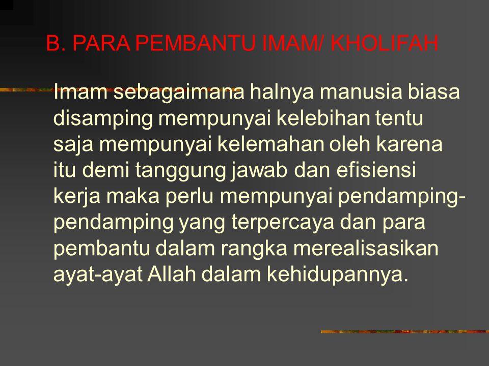Dalil-dalil Tentang Wajibnya ummat Islam berjama'ah di bawah Ulil Amri dan larangan berpecah-belah QS.