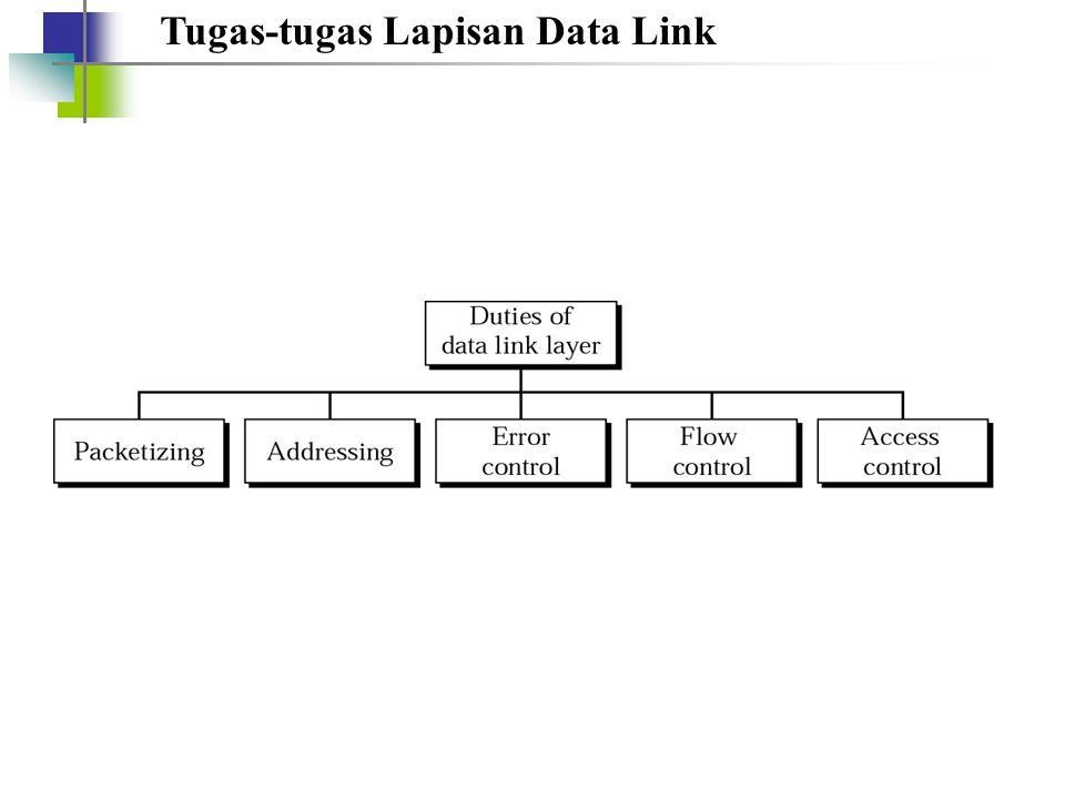 Tugas-tugas Lapisan Data Link