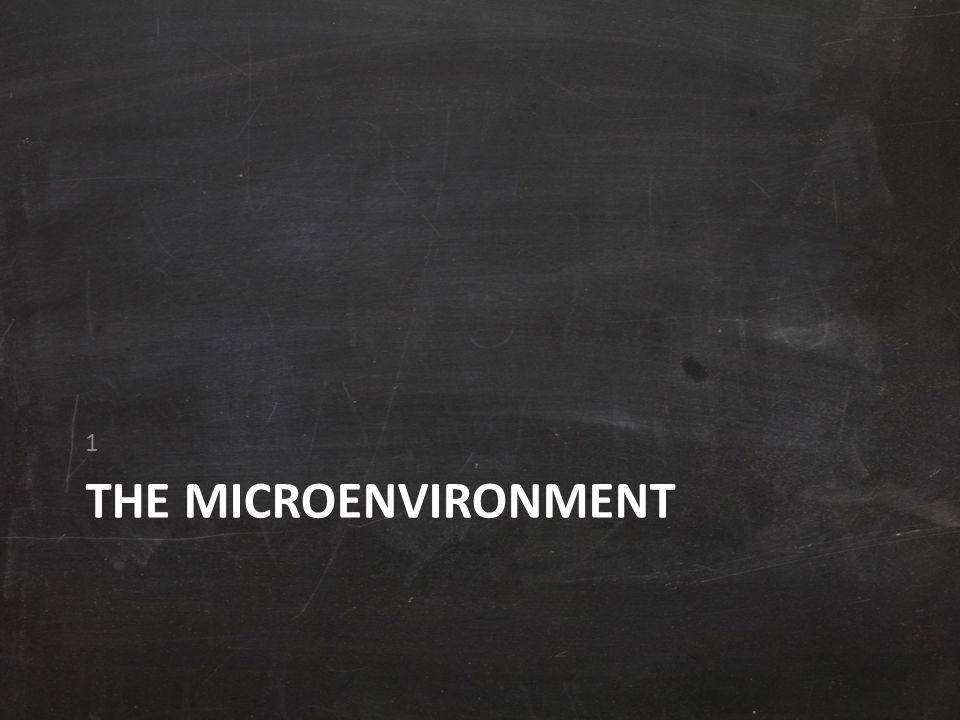 The Microenvironment Microenvironment is the actors close to the company that affect its ability to serve its customers - the company, suppliers, marketing intermediaries, customer markets, competitors, and publics.