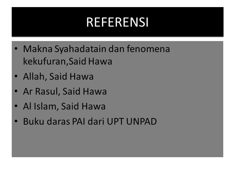 Sikap kita terhadap Al qur'an Mengimani bahwa al Qur'an adalah kalam Allah yang diwahyukan kepada Muhammad s.a.w.