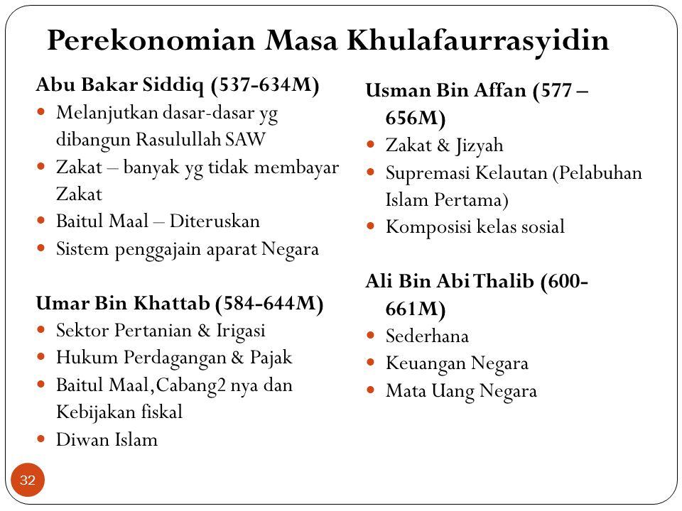 Perekonomian di Masa Rasulullah SAW Mekkah – masyarakat Muslim belum sempat membangun perekonomian; perjuangan & mempertahankan diri dari intimidasi k