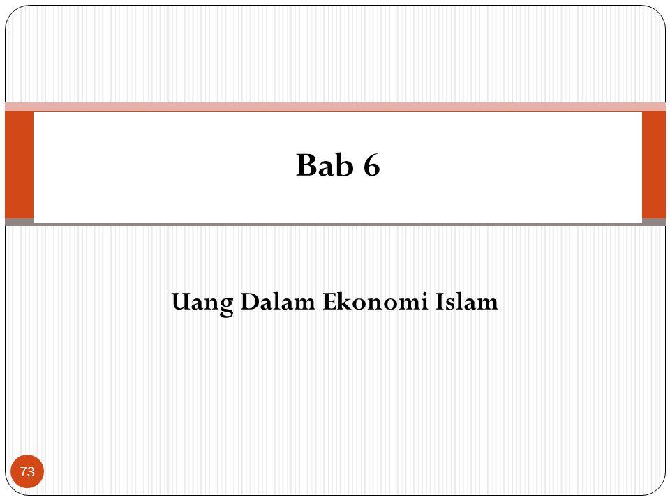 Sinergi Aktifitas Ekonomi Islamic Financial Institutions FirmHousehold MARKET Hisbah Bait Al Mal (Government) 72