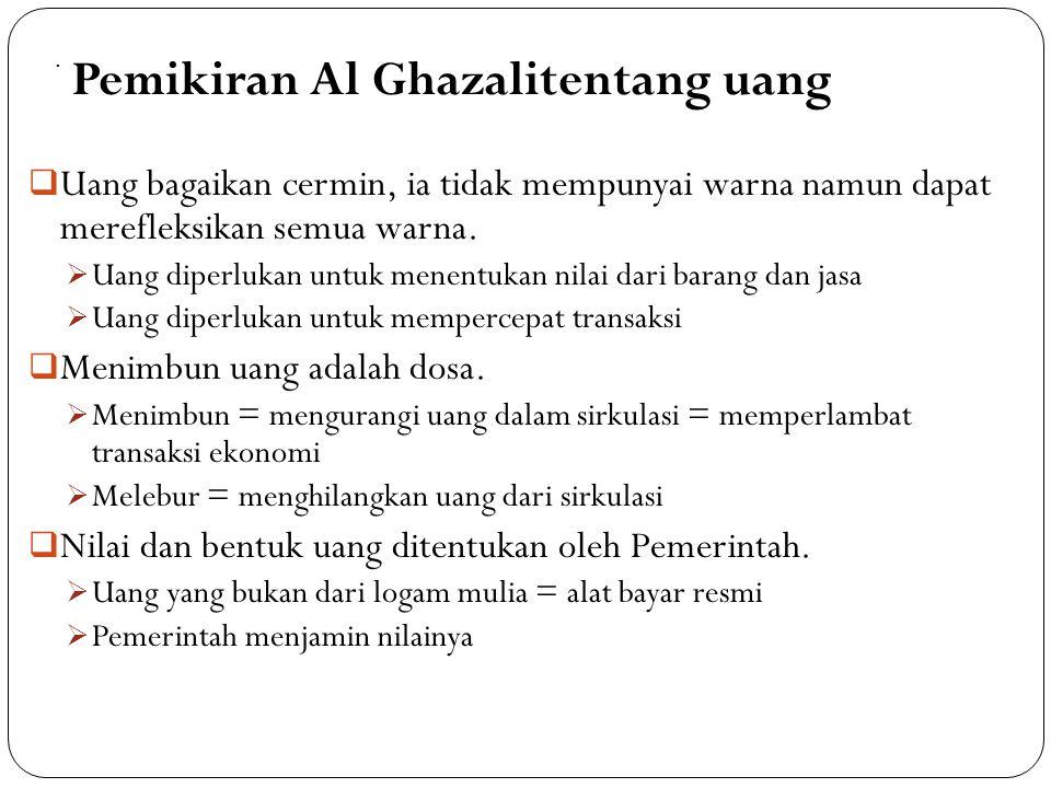 Konsep Uang Modern yang Islami 75 Dinar Milenia atau Dinar Madani Uang tidak harus terbuat dari emas/perak, tetapi Pemerintah harus menyatakan uang se