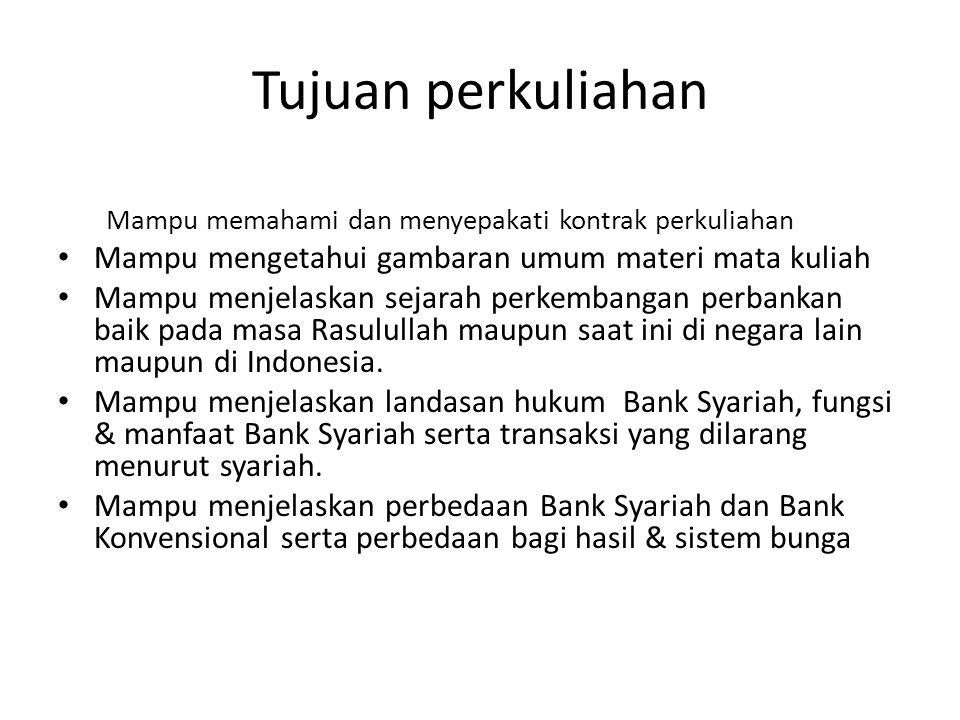 Pretest 1.Pernahkan anda datang ke Bank Syariah ? 2.Sebutkan nama-nama Bank Syariah yang anda ketahui (sebanyak mungkin) 3.Apa perbedaan bank syariah