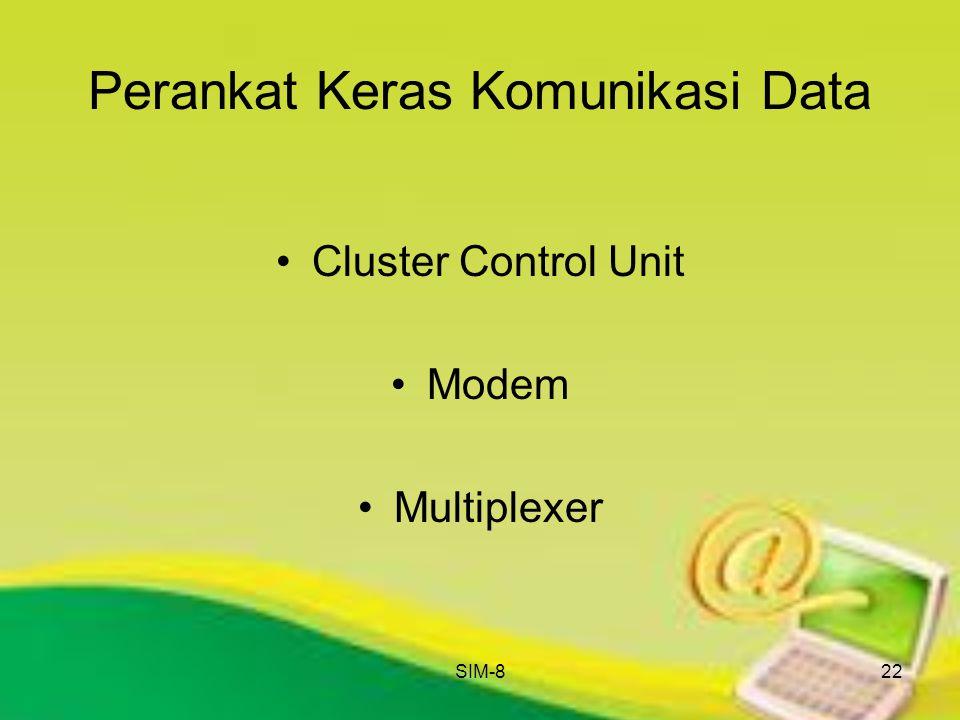 SIM-822 Perankat Keras Komunikasi Data Cluster Control Unit Modem Multiplexer