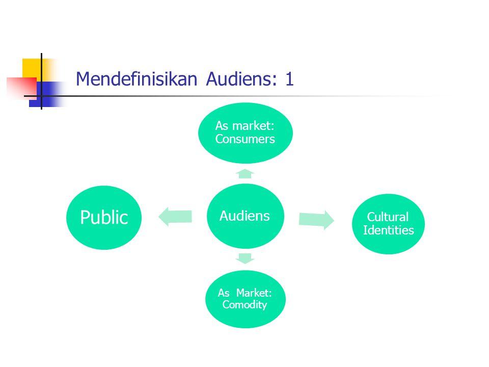 Memahami Audiens: 2 Audens Leisure Time Labour Fan, nojob, Noworks Works Masyarakat Kapitalis