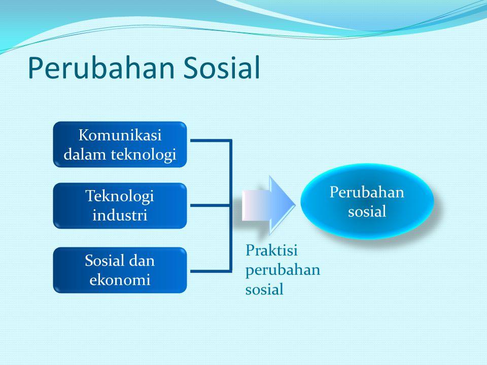 Perubahan Sosial Komunikasi dalam teknologi Sosial dan ekonomi Teknologi industri Perubahan sosial Praktisi perubahan sosial