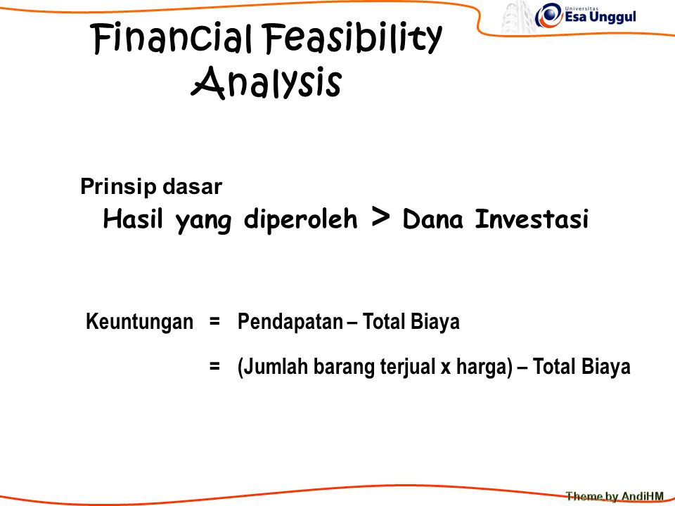 Fixed Cost vs Variable Cost Rp Jumlah Unit Fixed cost Variable cost Dipergaruhi oleh aktivitas/volume bisnis Tidak dipergaruhi oleh aktivitas bisnis Total Cost