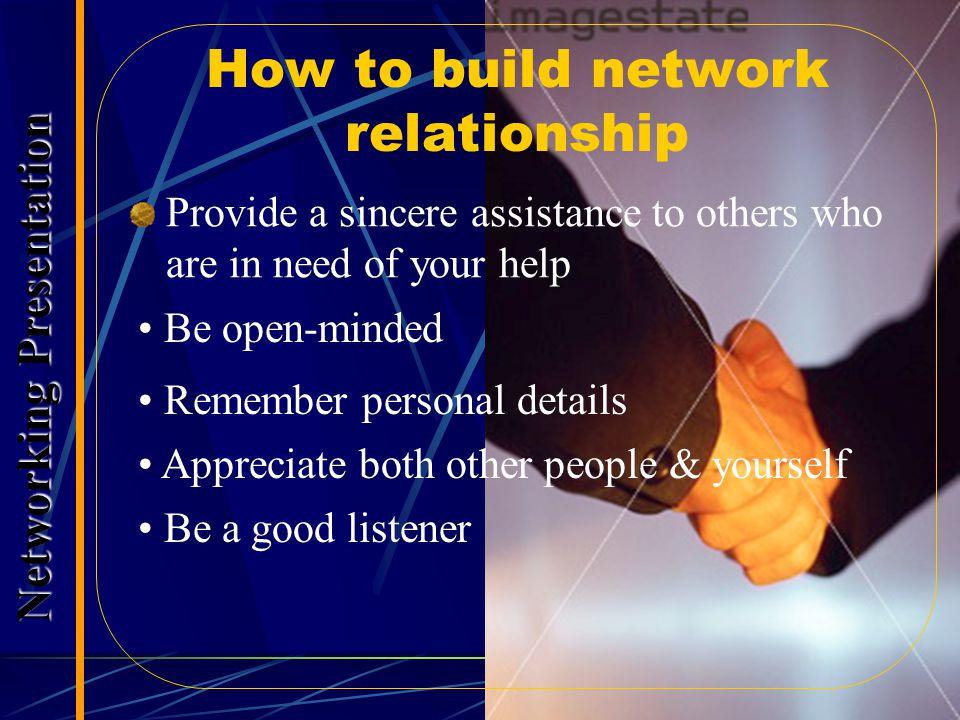 The Art of Listening Les Giblin  Condongkanlah badan ke arah orang itu  Pandanglah orang yang sedang berbicara  Tunjukkanlah minat yang mendalam  Gunakan kata-kata dari pembicara untuk menyampaikan maksud anda: Seperti yang Anda katakan …….  Tetaplah pada topik si pembicara  Jangan menyela; sebaliknya, mintalah orang lain lebih banyak bicara  Ajukanlah pertanyaan