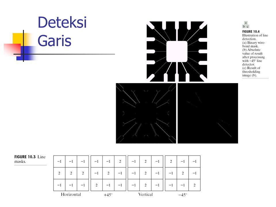 Deteksi Garis