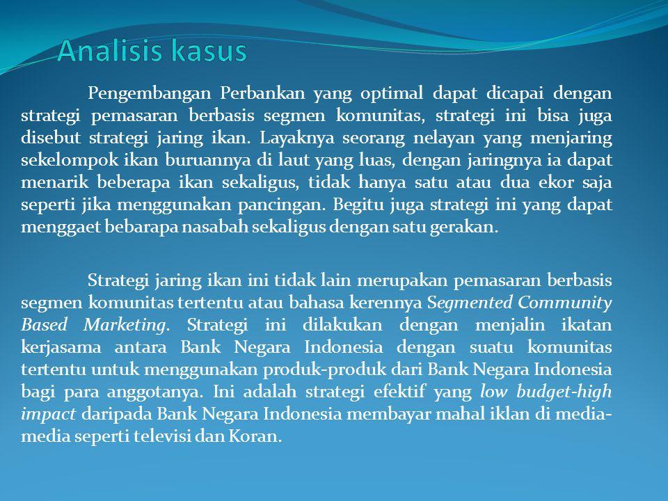 Sebagai gambarannya, ambil contoh Bank Negara Indonesia mengadakan kerjasama dengan Universitas Jambi.