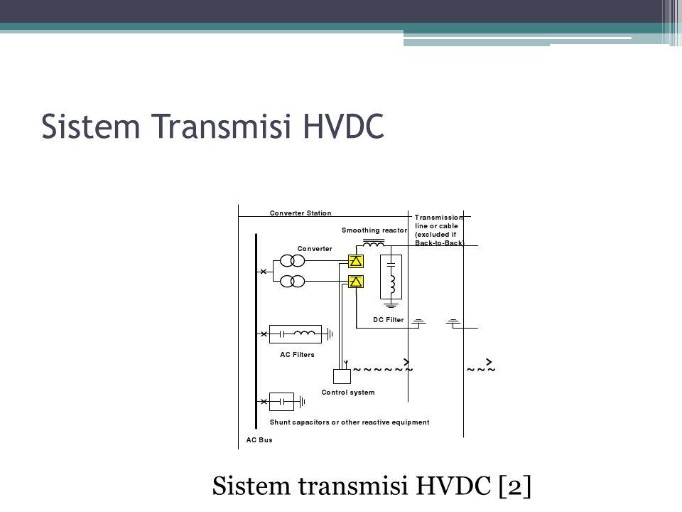 Sistem Transmisi HVDC Sistem transmisi HVDC [2]