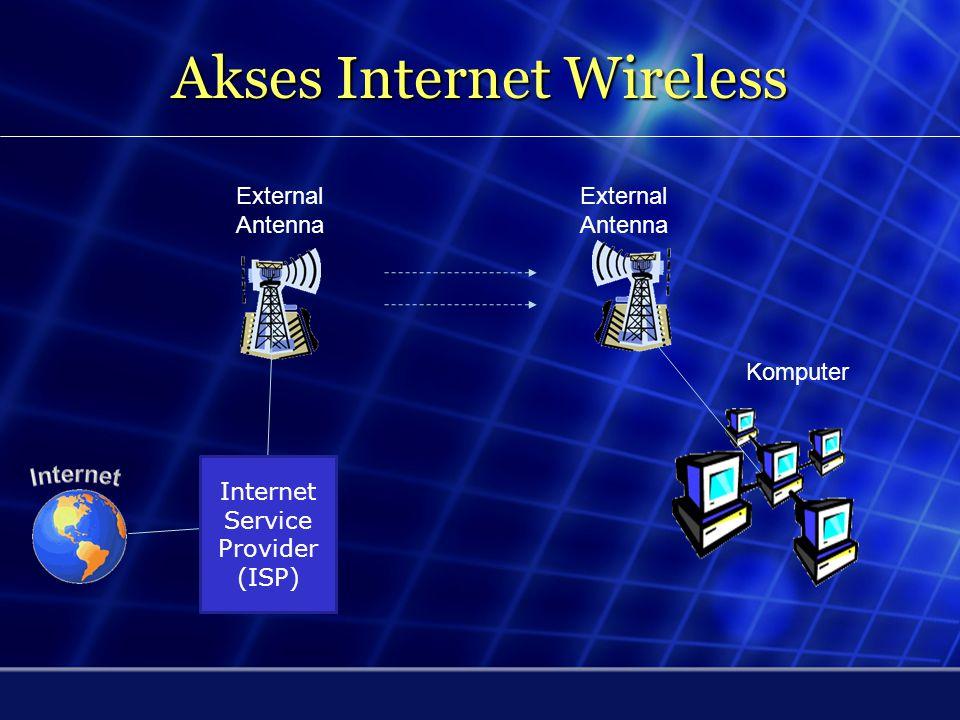 Akses Internet Mobile 3,5G Modem Kecepatan sampai 3.2 Mbps. Komputer Internet Service Provider (ISP) Operator GSM BTS BTS : Base Transceiver Station
