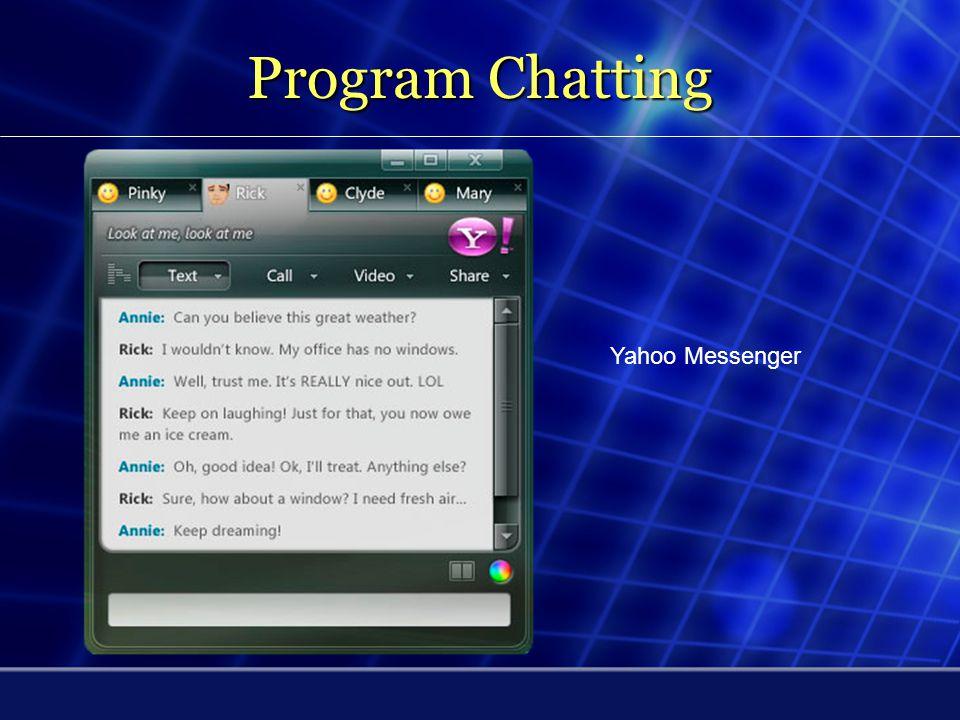 Program Chatting mIRC