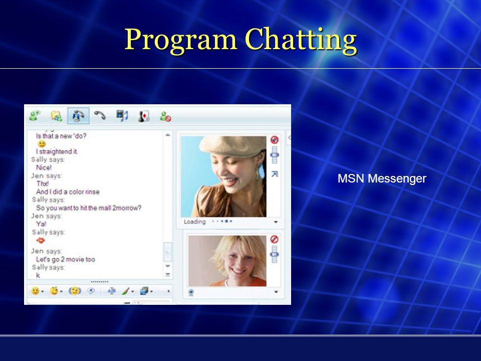 Program Chatting Yahoo Messenger