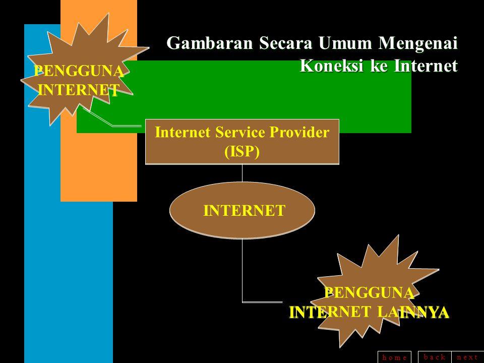 b a c kn e x t h o m e ISP di INDONESIA n IndoInternet (Sept.