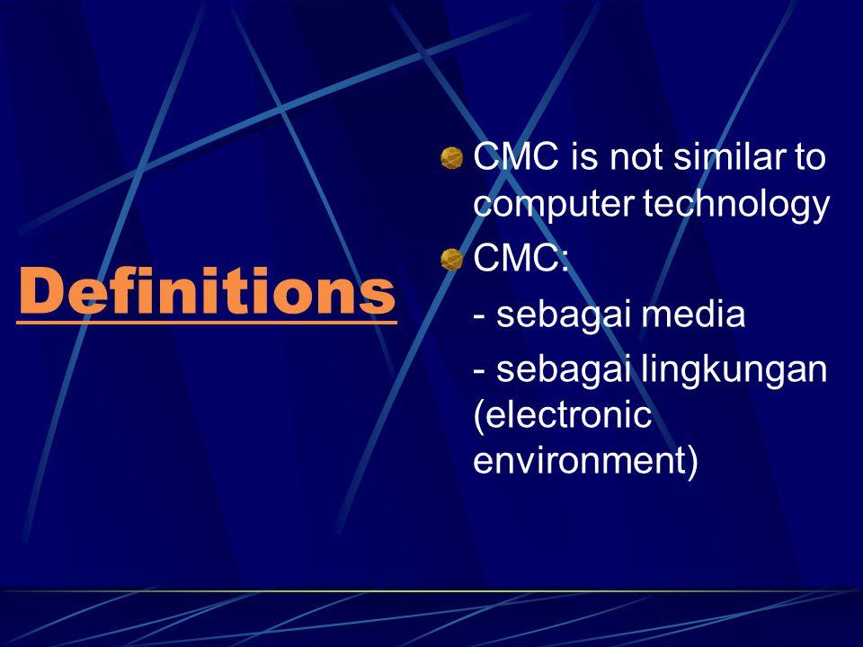 Cyberspace William Gibson Individu dapat menghubungkan sistem syarafnya dengan jariongan komputer global dan mengalami apa yang disebut dengan virtual reality VR = Cyberspace