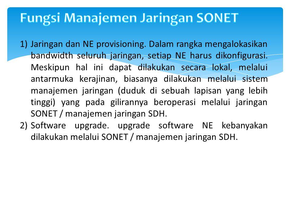 3) Kinerja manajemen.NE memiliki satu set yang sangat besar dari standar untuk Manajemen Kinerja.