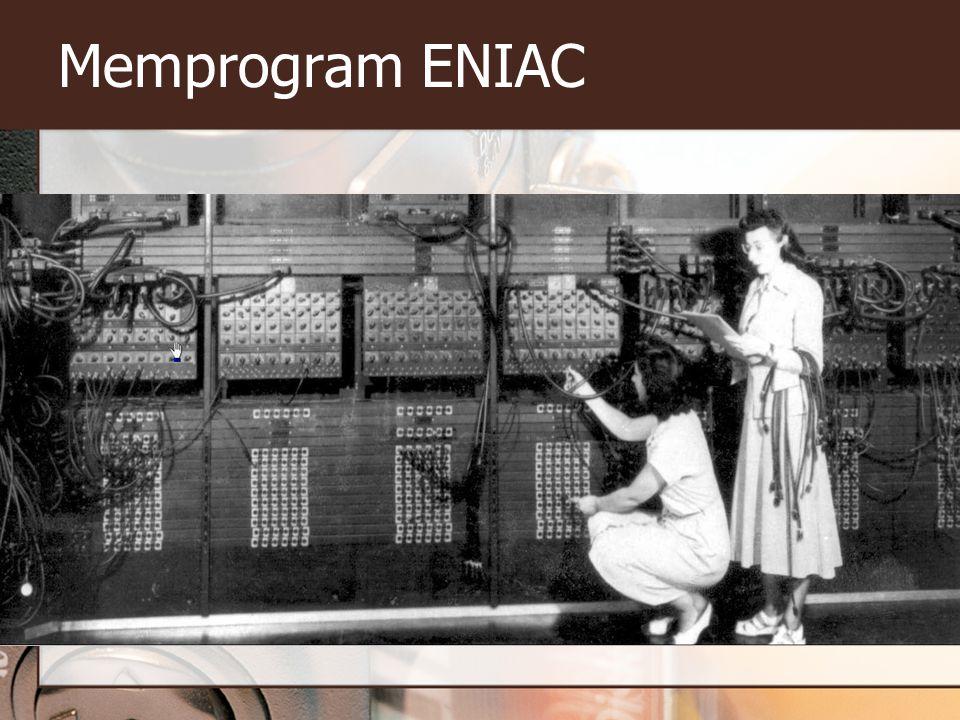 Memprogram ENIAC