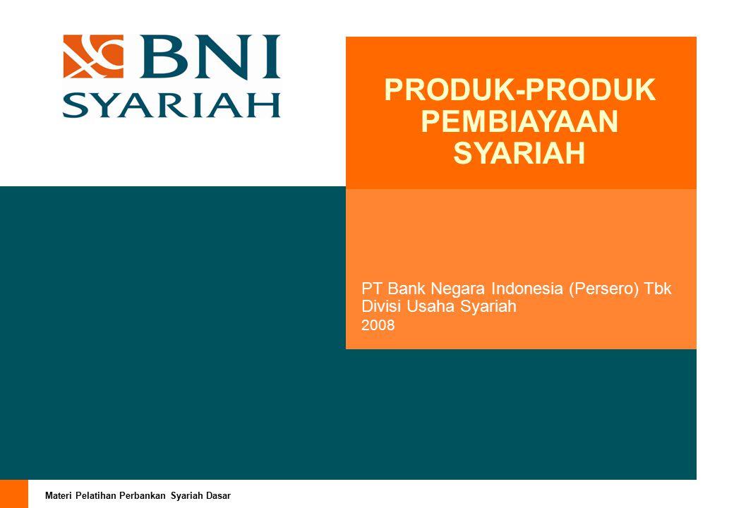 Materi Pelatihan Perbankan Syariah Dasar Page 21 Mekanisme Perhitungan Margin Misalnya : Jumlah pembiayaan Murabahah Pembelian rumahi : Rp.