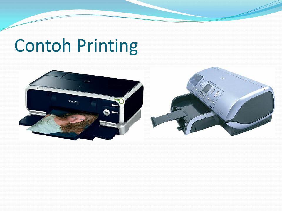 Contoh Printing