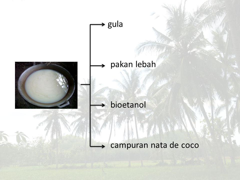 gula pakan lebah bioetanol campuran nata de coco