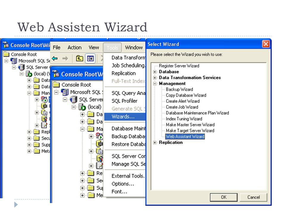 Web Assisten Wizard