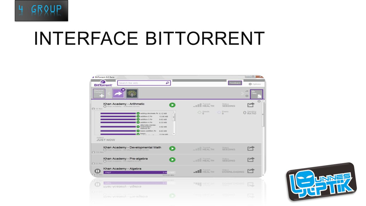 INTERFACE BITTORRENT