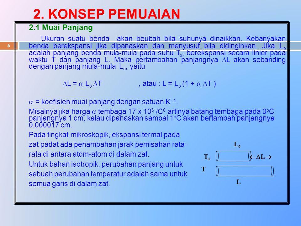 17 Gaya pada dinding untuk N partikel m m _ F = — ( v x1 2 + v x2 2 + …..