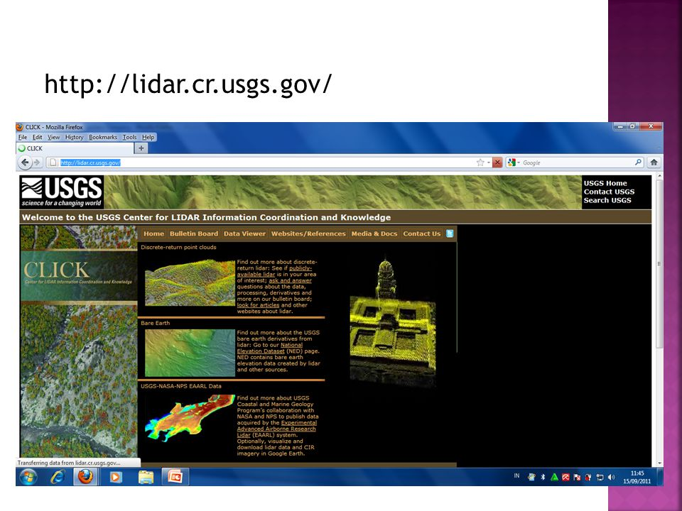 http://lidar.cr.usgs.gov/