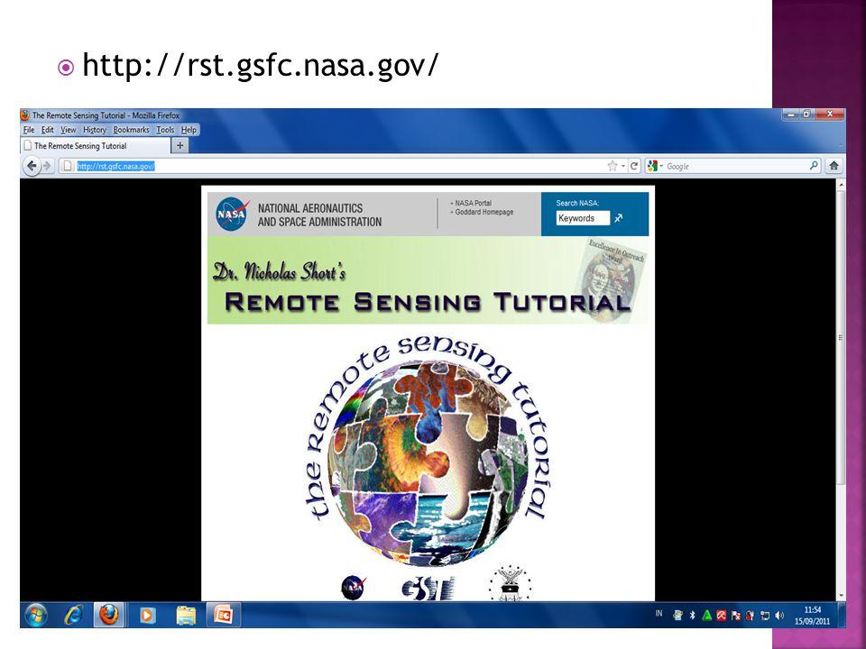  http://rst.gsfc.nasa.gov/