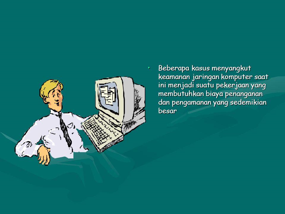 1998 Keamanan sistem mail sendmail dieksploitasi oleh Robert Tapan Morris sehingga melumpuhkan sistem Internet.