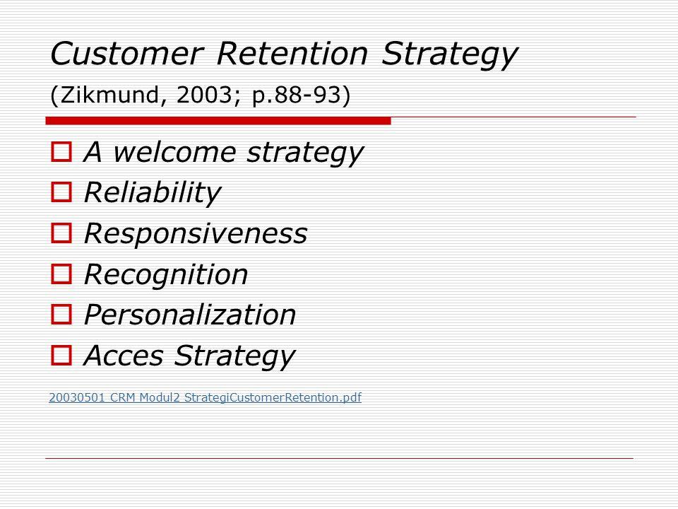 Retention Marketing memerlukan alokasi sumber daya pemasaran Sebagai ilustrasi, misalkan anda mempunyai 1.000 konsumen, dan anda mempunyai anggaran tahunan sebesar $1,000.