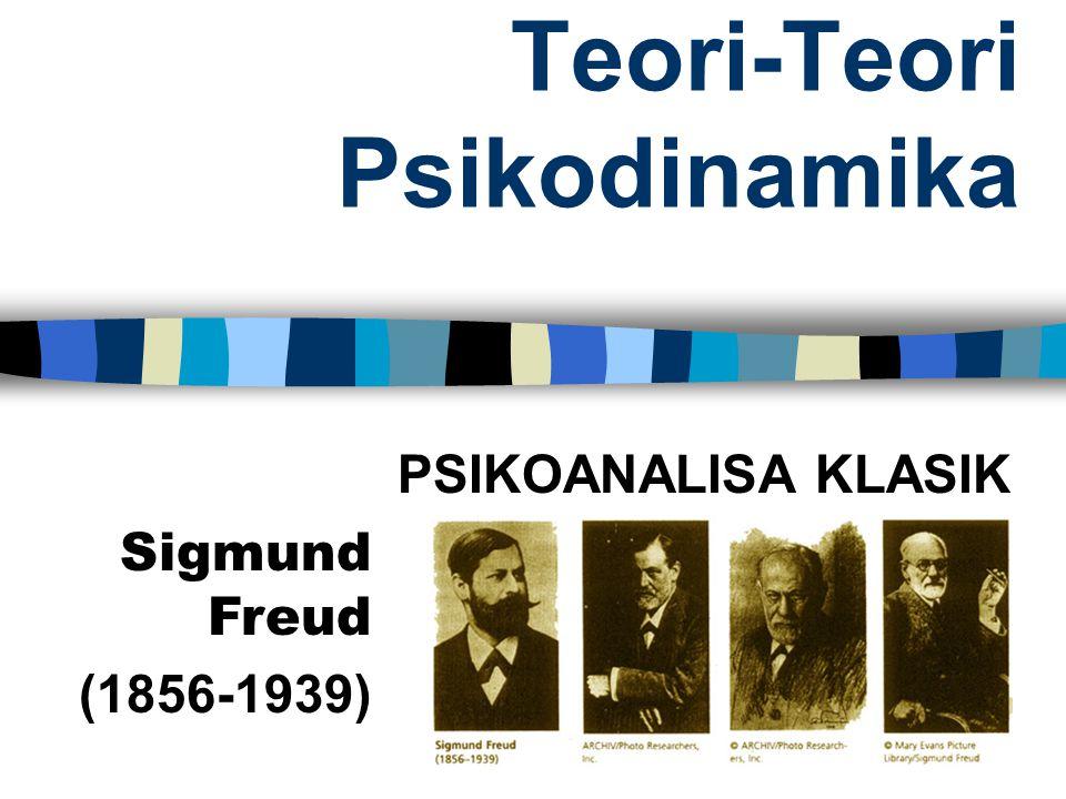 Teori-Teori Psikodinamika PSIKOANALISA KLASIK Sigmund Freud (1856-1939)