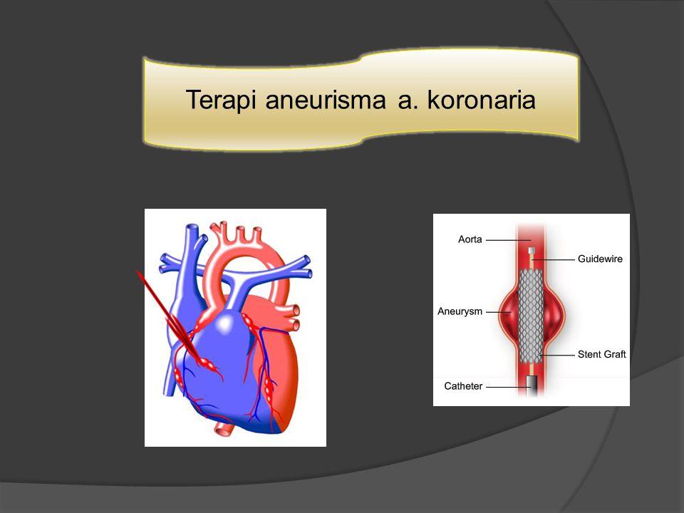 Terapi aneurisma a. koronaria