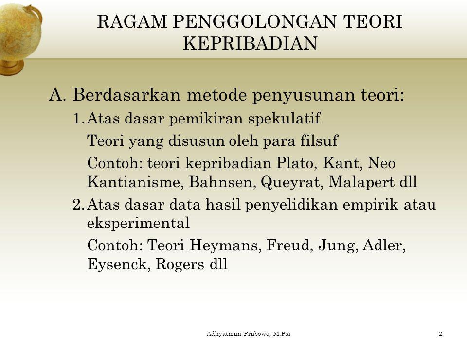 Adhyatman Prabowo, M.Psi 1