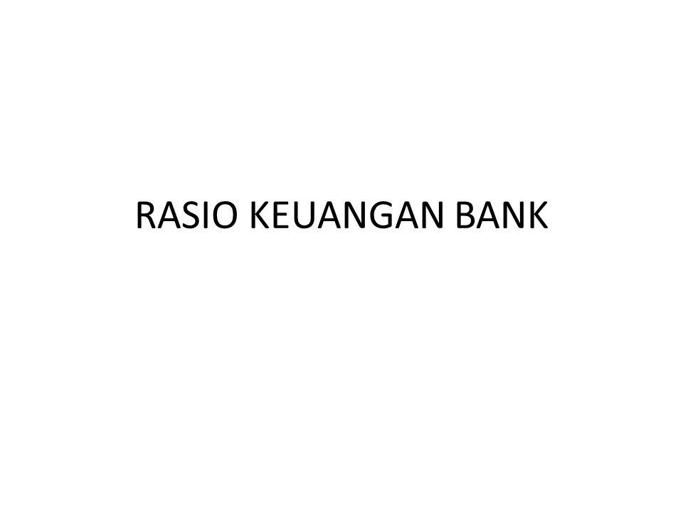 RASIO KEUANGAN BANK