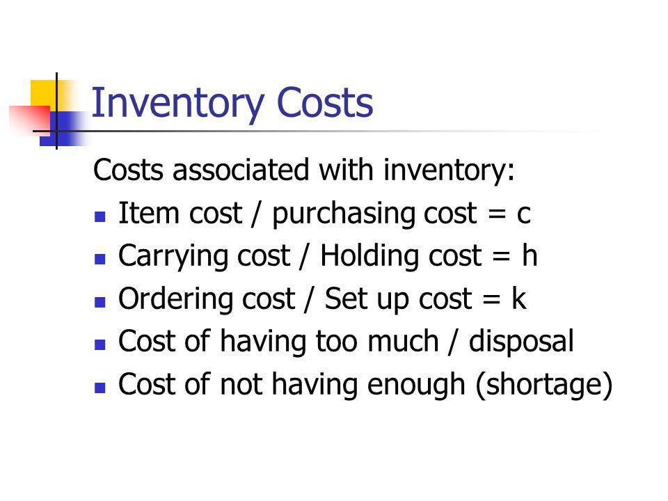 Ukuran Persediaan Inventory turnover rate, seberapa cepat produk mengalir relatif terhadap jumlah yang tersimpan sebagai persediaan Misal perusahaan menjual 150 jenis produk, nilai persediaan rata-rata Rp.