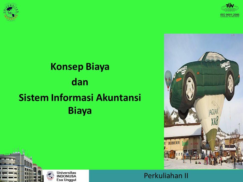 BIAYA PRODUKSI BB BTKL Biaya Utama/Prime cost BOP Biaya Konversi