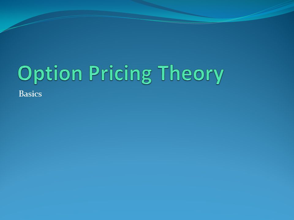 OPTION Option to buy is a call option Option to sell is a put option Option premium - paid for the option Exercise price or strike price - price agreed for purchase or sale Expiration date European options American options 23