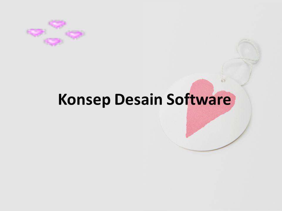 Konsep Desain Software