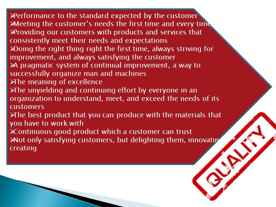 Definisi TQM Perpaduan semua fungsi dari perusahaan ke dalam falsafah holistik yang dibangun berdasarkan konsep kualitas, teamwork, produktivitas, dan pengertian serta kepuasan pelanggan (Ishikawa dalam Pawitra, 1993, p.