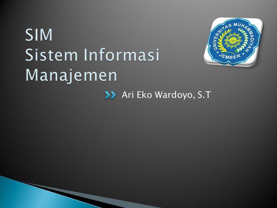 Adalah subset/subsistem dari SIM (Sistem Informasi Manajemen) yang menyediakan informasi untuk memcahkan masalah pemasaran perusahaan.