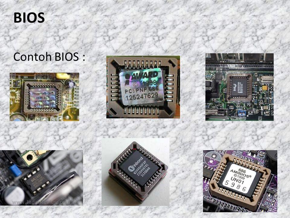 BIOS Contoh BIOS :