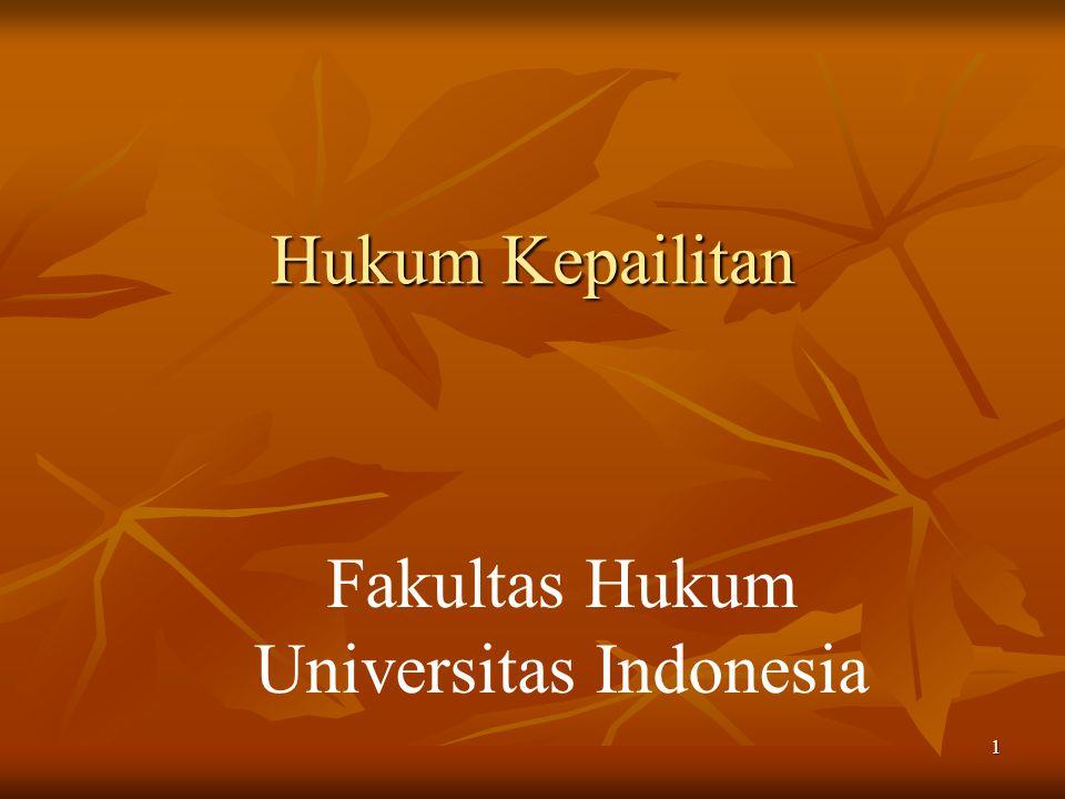 1 Hukum Kepailitan Fakultas Hukum Universitas Indonesia
