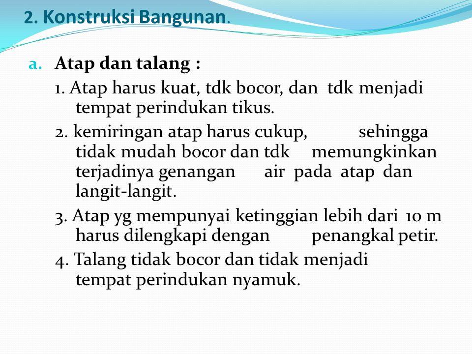 b.Sarana Pembuangan Air Limbah 1.