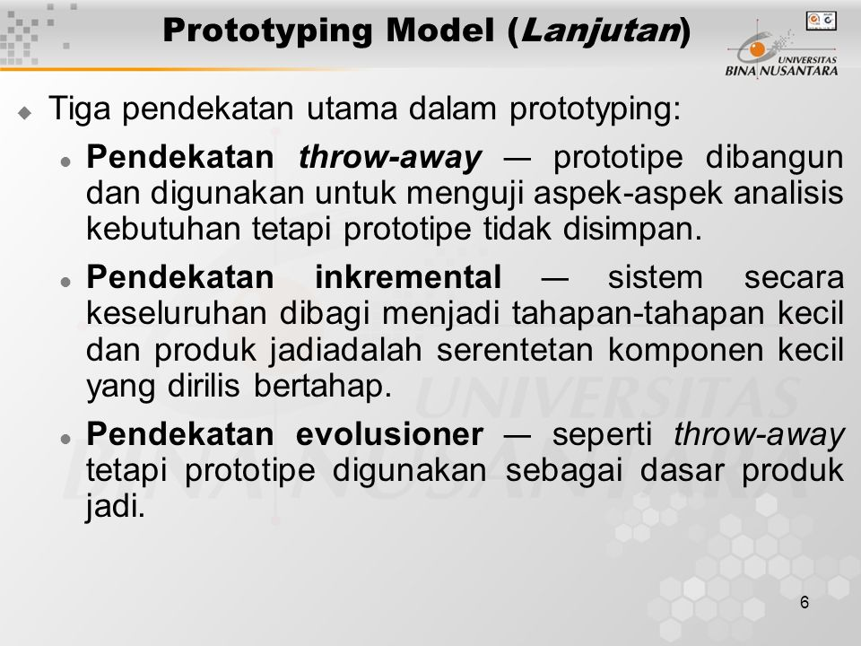 17 Object-Oriented System Design (OOSD)  Berbagai metodologi OO: Object Modeling Technique (OMT) OOSE Objectory Booch Fusion Object-Oriented Analysis and Design